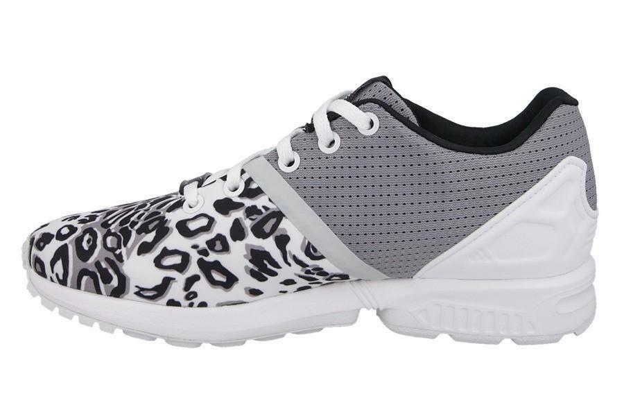 adidas adidas zx flux split el i scarpe sportive bambina/o bianche tela s78807