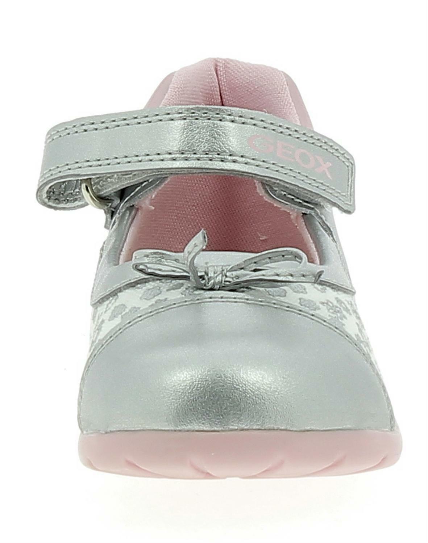 geox elthan ballerine bambina argento