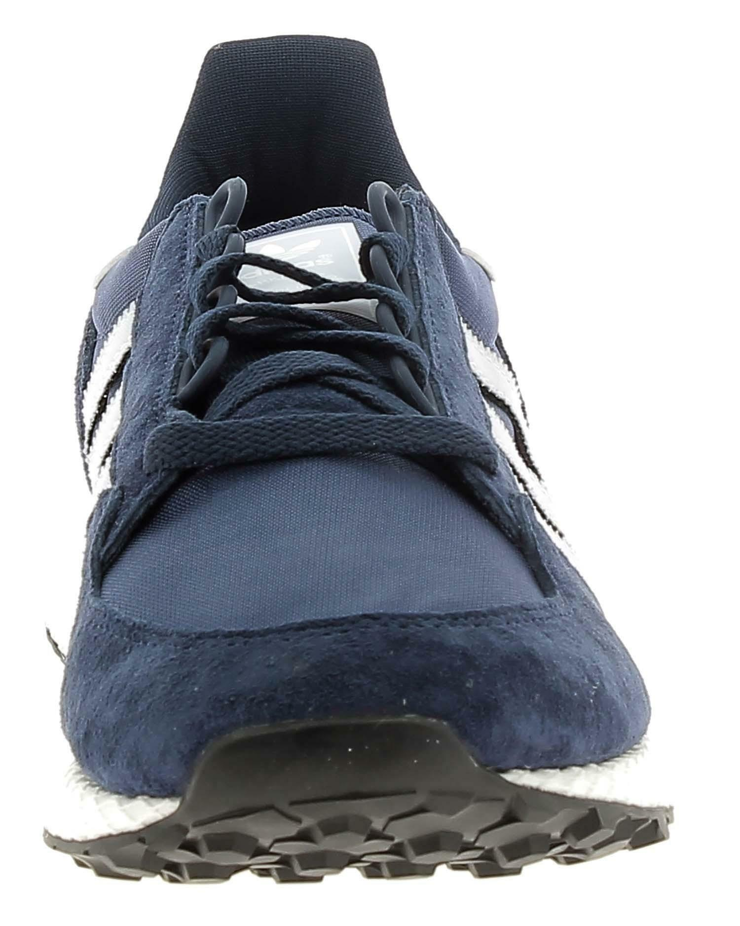 adidas adidas forest grove scarpa sportiva uomo blu d96630