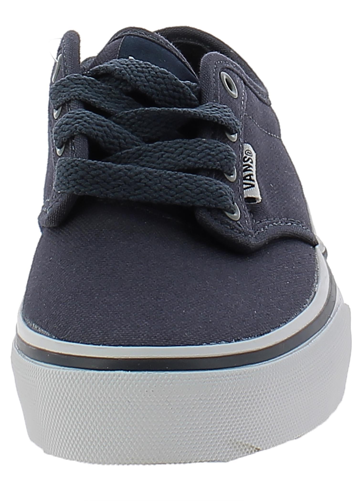 vans vans atwood scarpe bambino blu tela  ki54k1