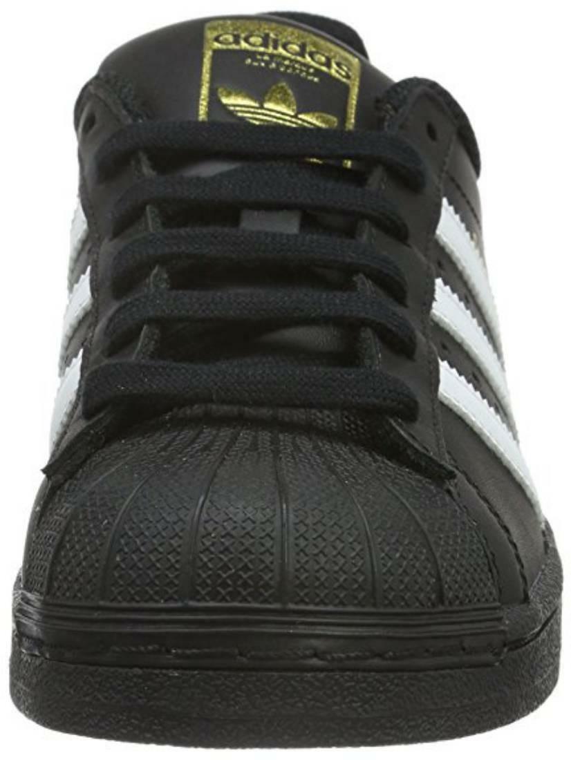 adidas adidas superstar foundation j scarpe sportive nere bianche