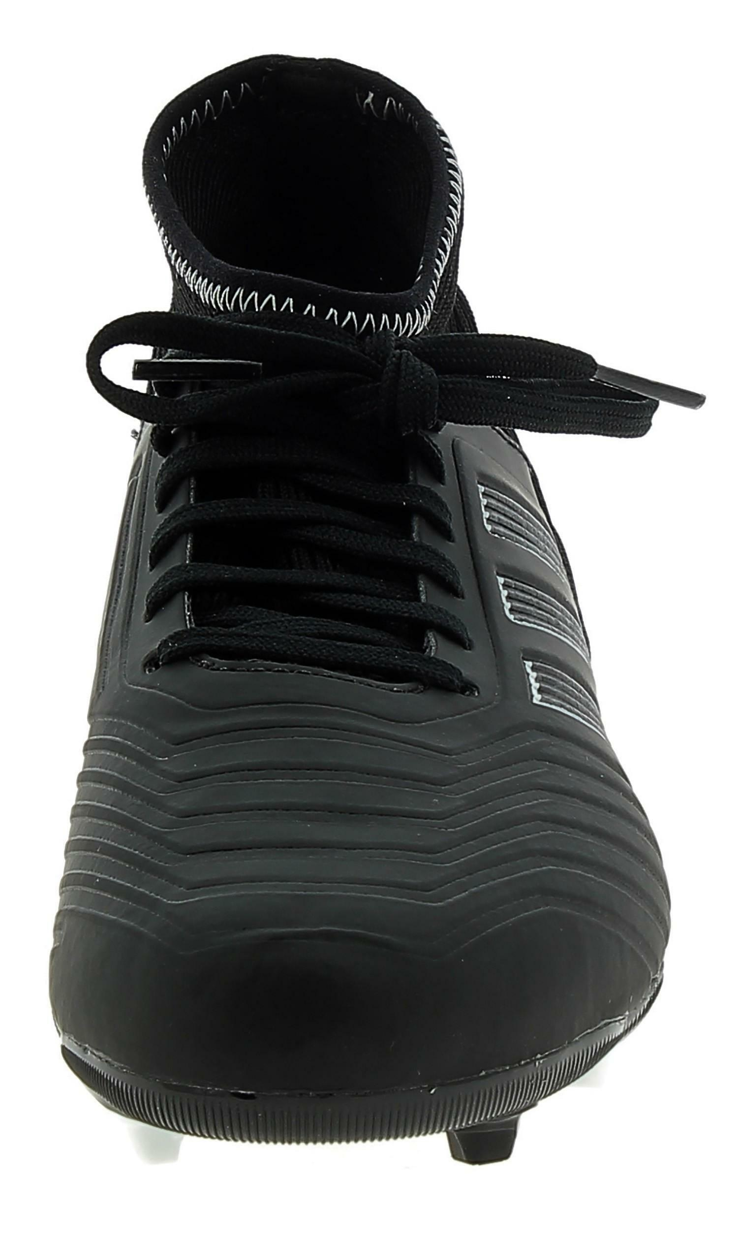 adidas adidas predator 18.3 fg scarpini calcio bambino neri db2320