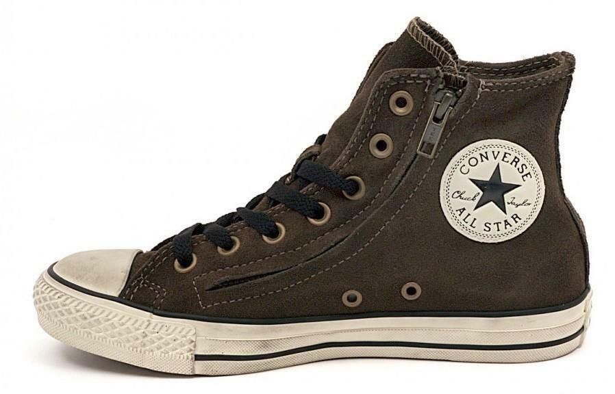 aff94fd74b54 Converse Ct Double Zip Women s Green Leather Shoes 141251C