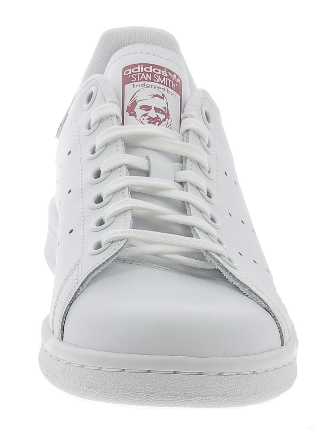 adidas adidas stan smith j scarpe sportive bianche b37186