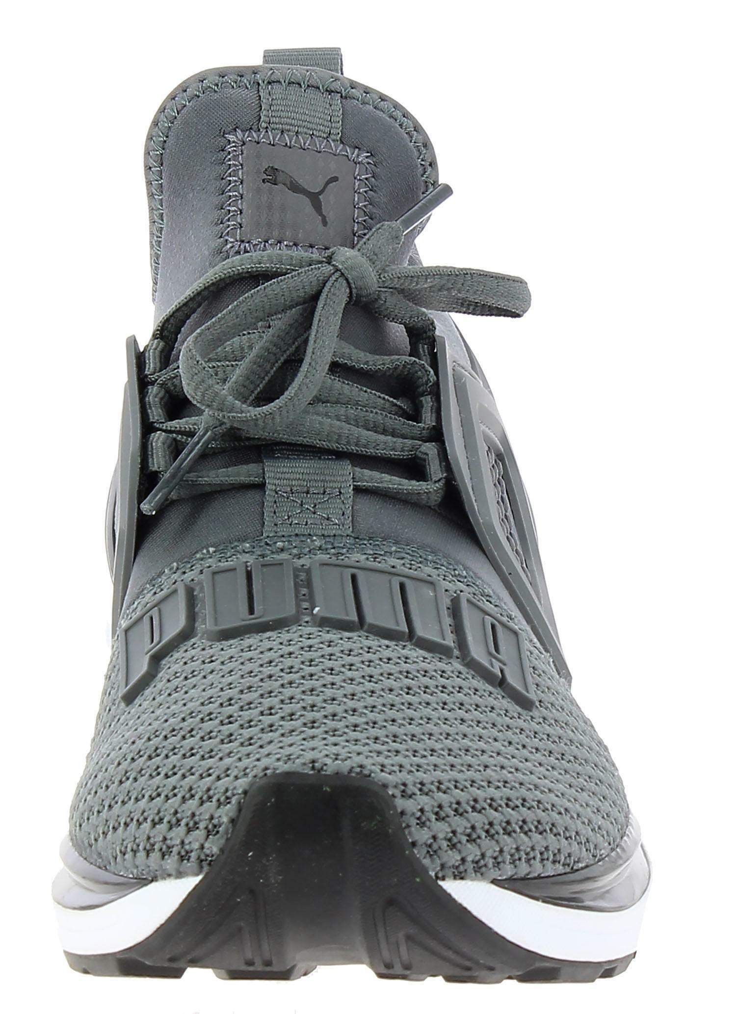 puma puma ignite limitless weave scarpe sportive uomo grigie 19129303