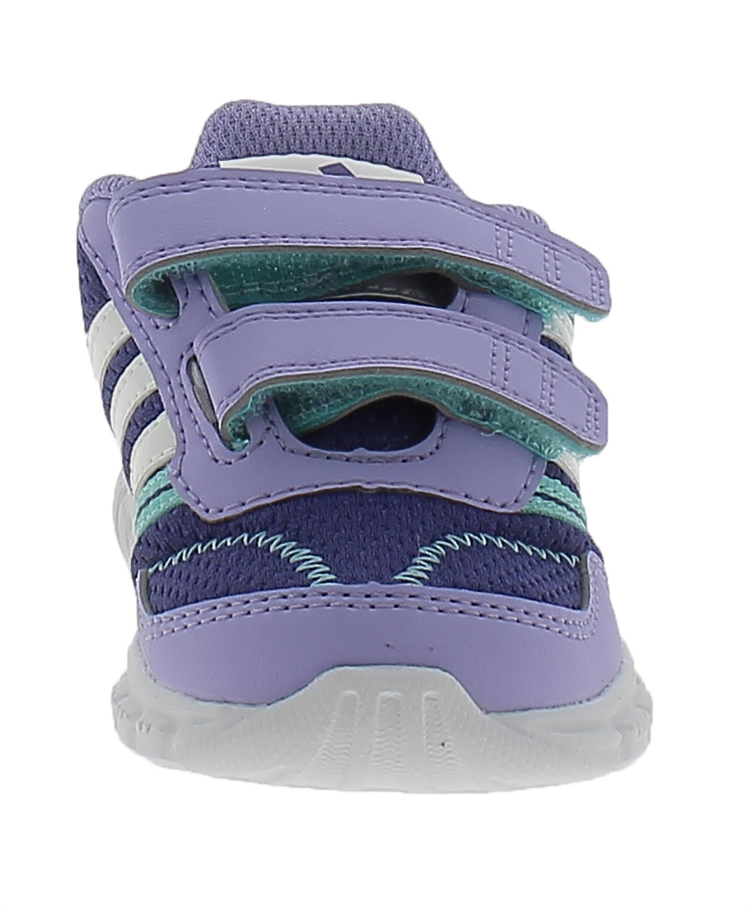 adidas adidas a-faito lt cf i scarpe bambina viola pelle strappi m20377
