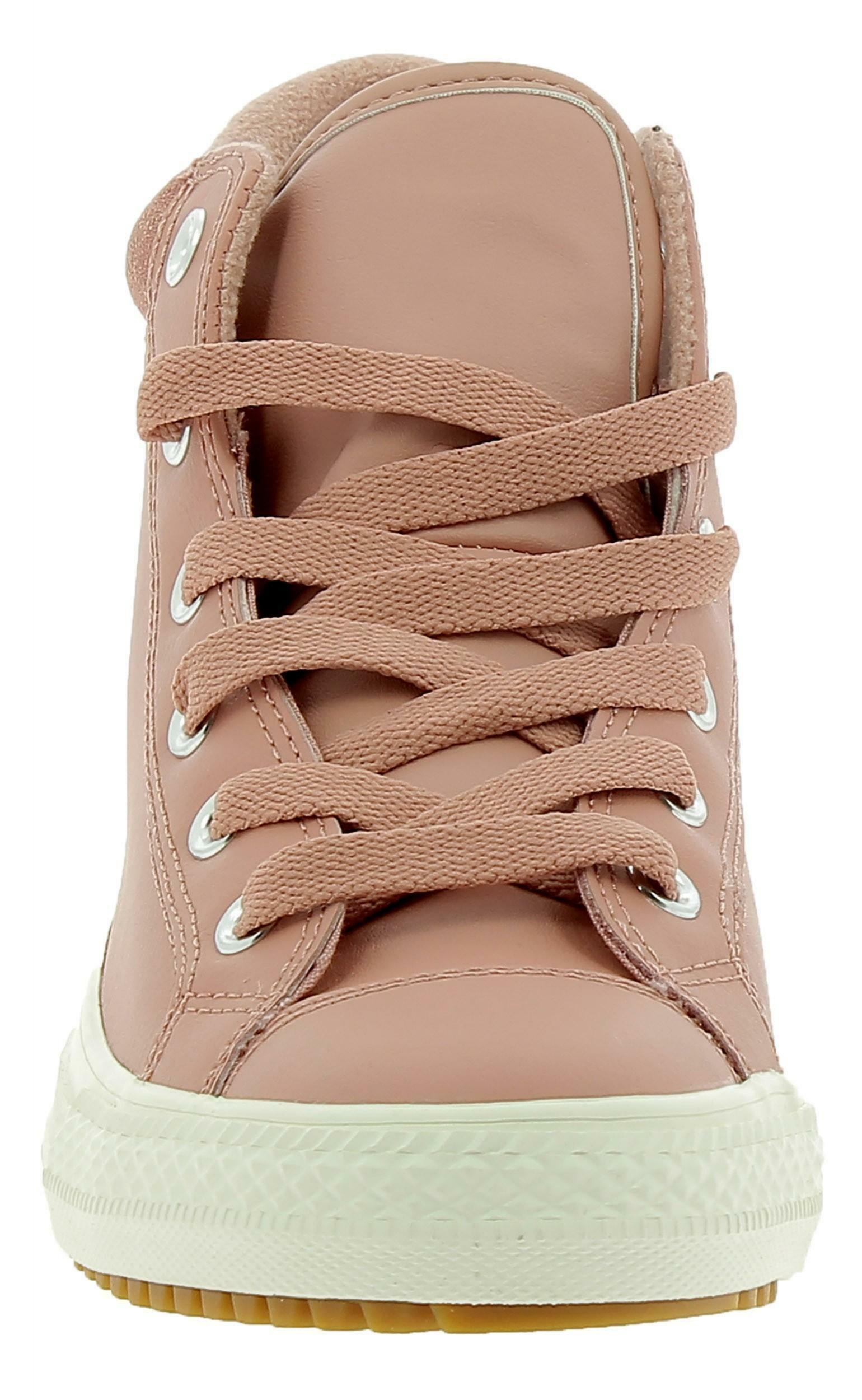 converse converse scarpe sportive rosa pelle 661905c