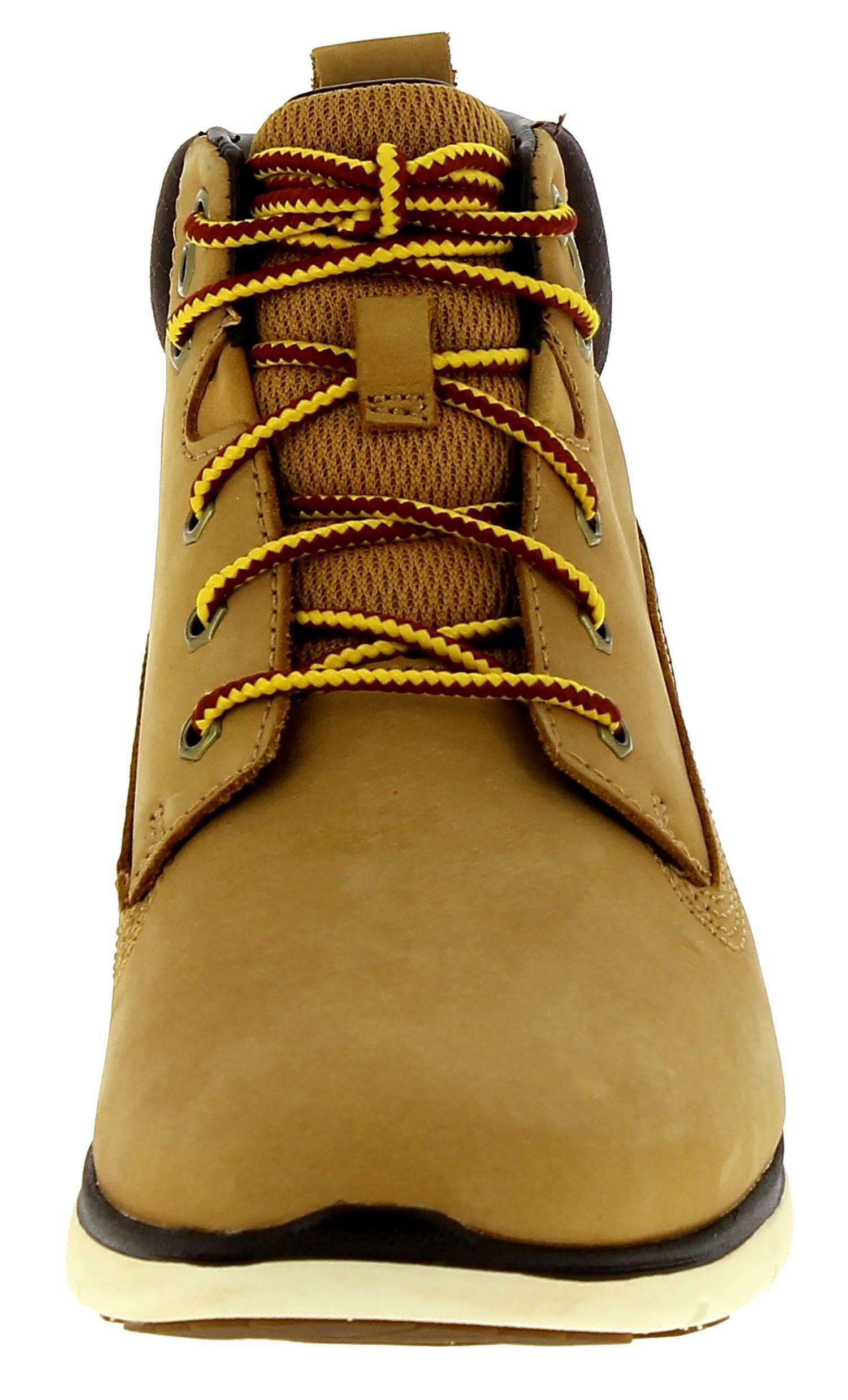 Timberland killington chukka scarpe sportive bambino marroni a1v8h