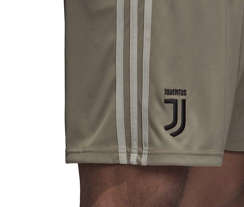 adidas adidas fc juventus pantaloncini away uomo grigi 2018/2019 cf3505