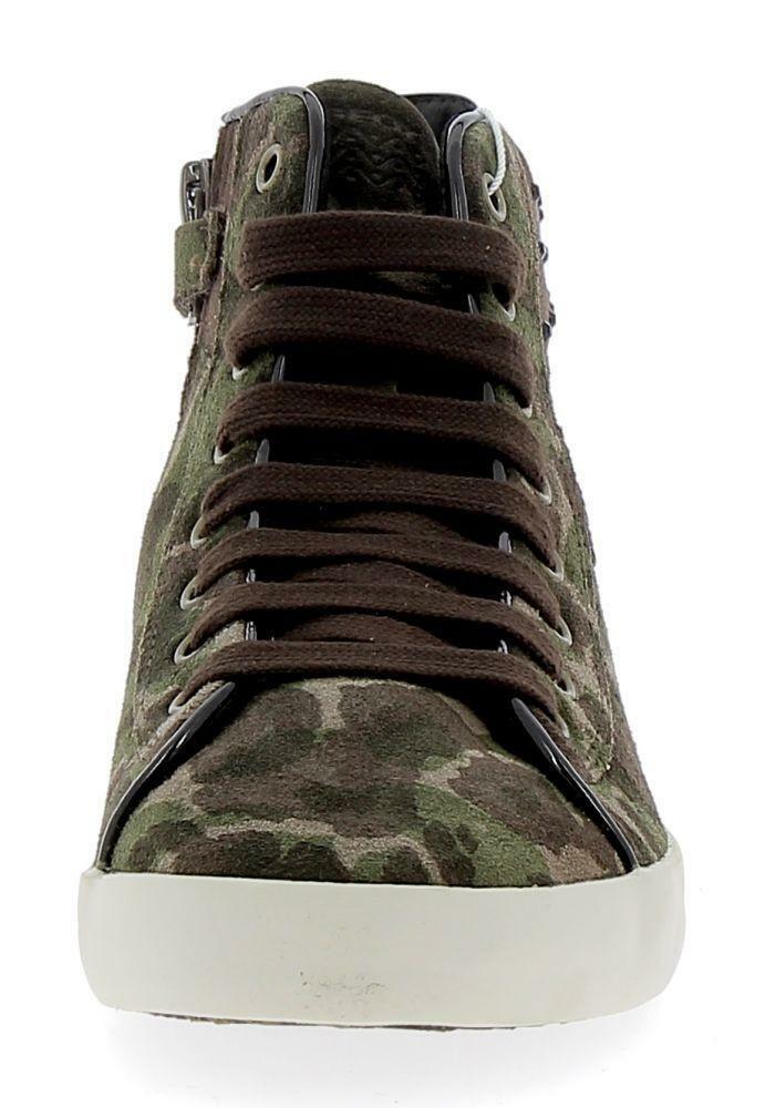 geox geox j kiwi scarpe sportive militari