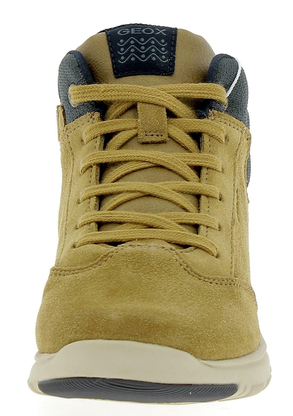 geox geox j xunday b scarpe bambino gialle