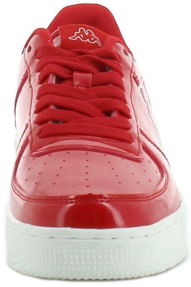 kappa kappa scarpe sportive rosse