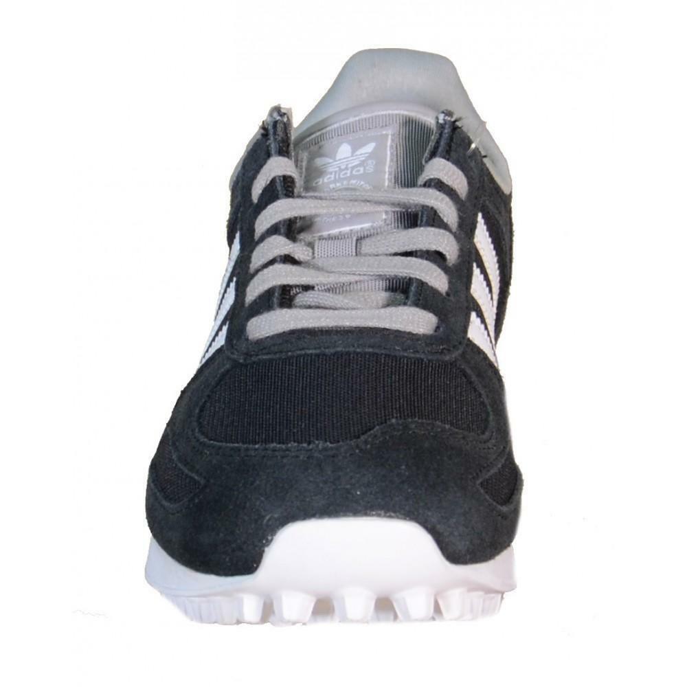 adidas la trainer k scarpe sportive nere pelle tela b25695