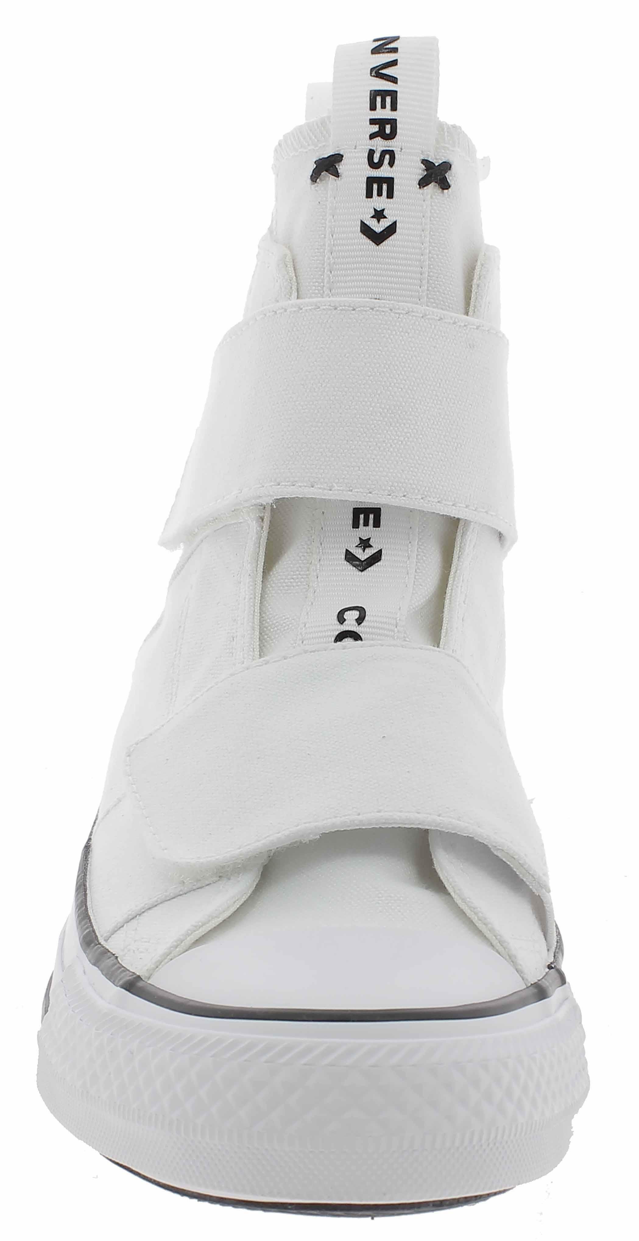 converse ctas strap hi scarpe sportive donna bianche 164547c