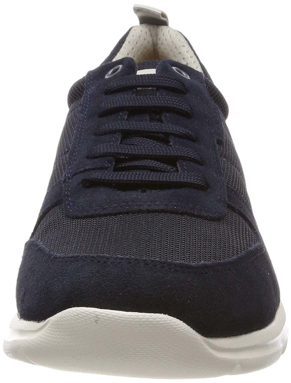 geox u damian a scarpe sportive uomo blu u920hac4002