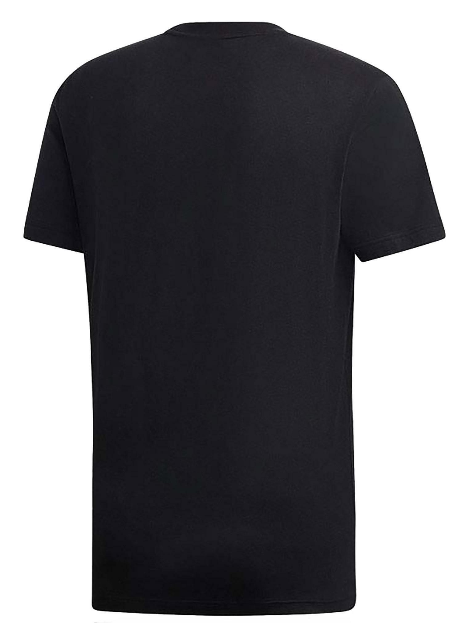 adidas mh bos tee t-shirt uomo nera dt9933