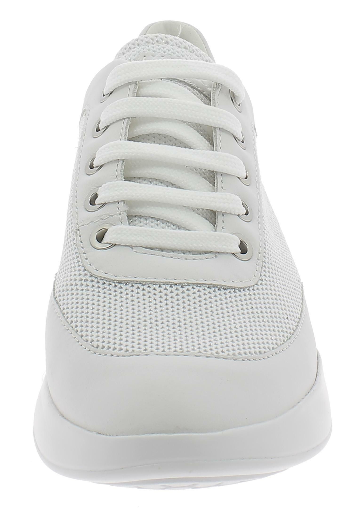 Geox d theragon c scarpe sportive donna bianche d928scc1000