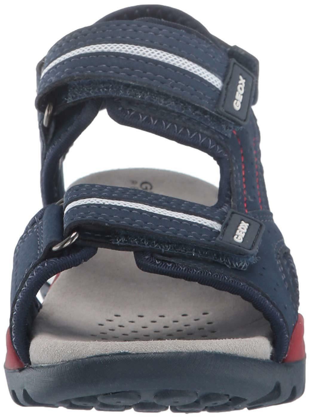 geox j borealis sandaletti bambino blu j920rdc0735