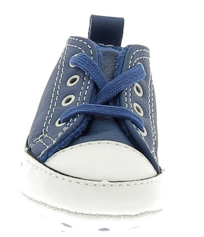 converse converse ctas frist scarpe culla bambino blu pelle