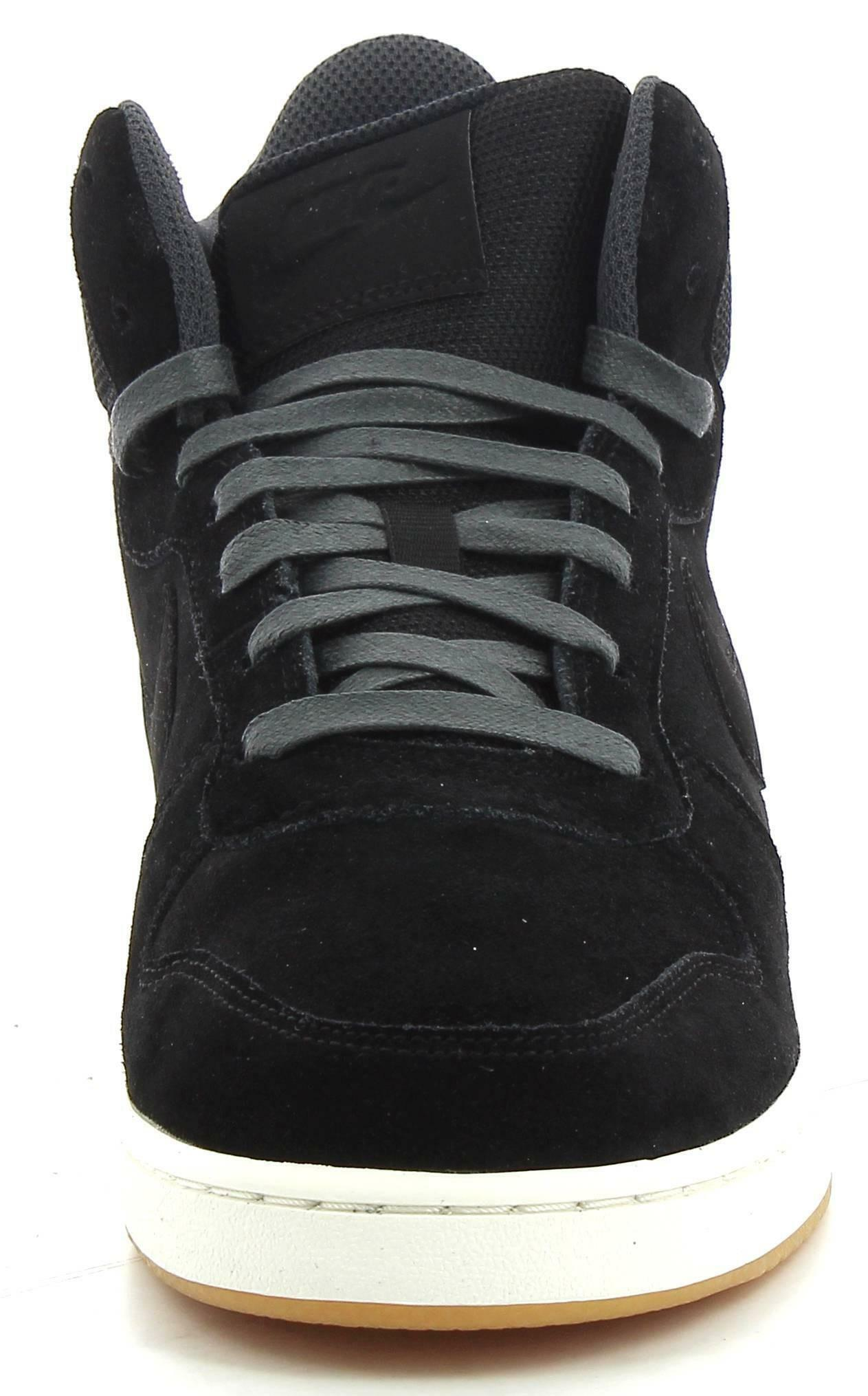 nike nike court borough mid prem scarpe sportive uomo nere