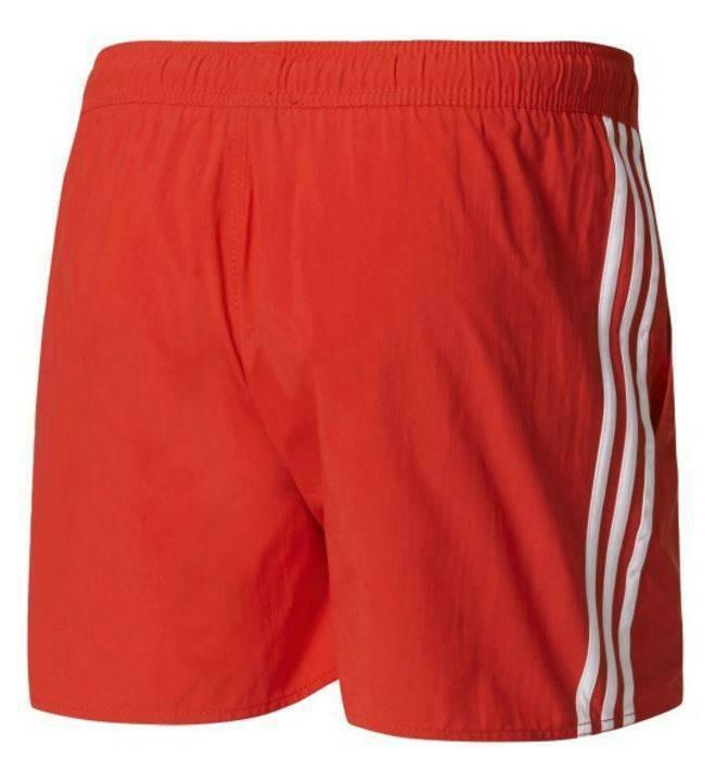 adidas adidas 3sa costume uomo rosso