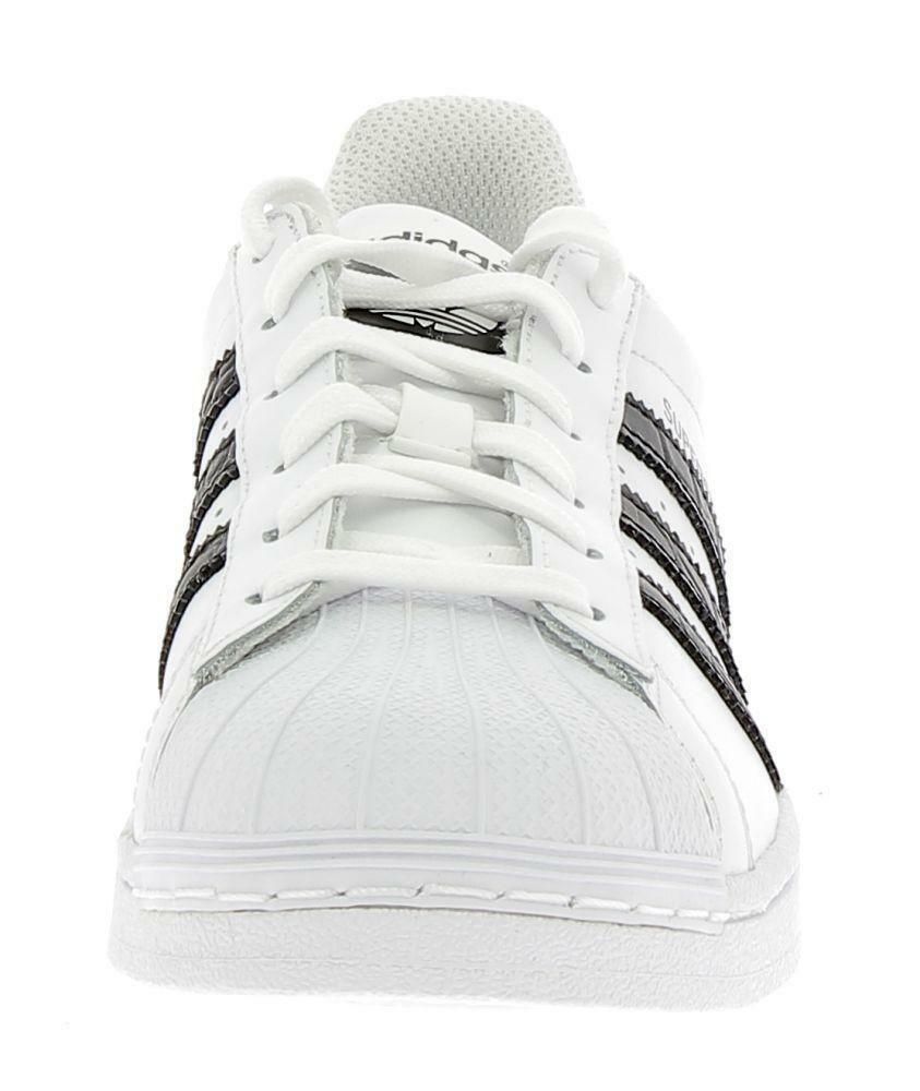 adidas adidas superstar j scarpe sportive bianche