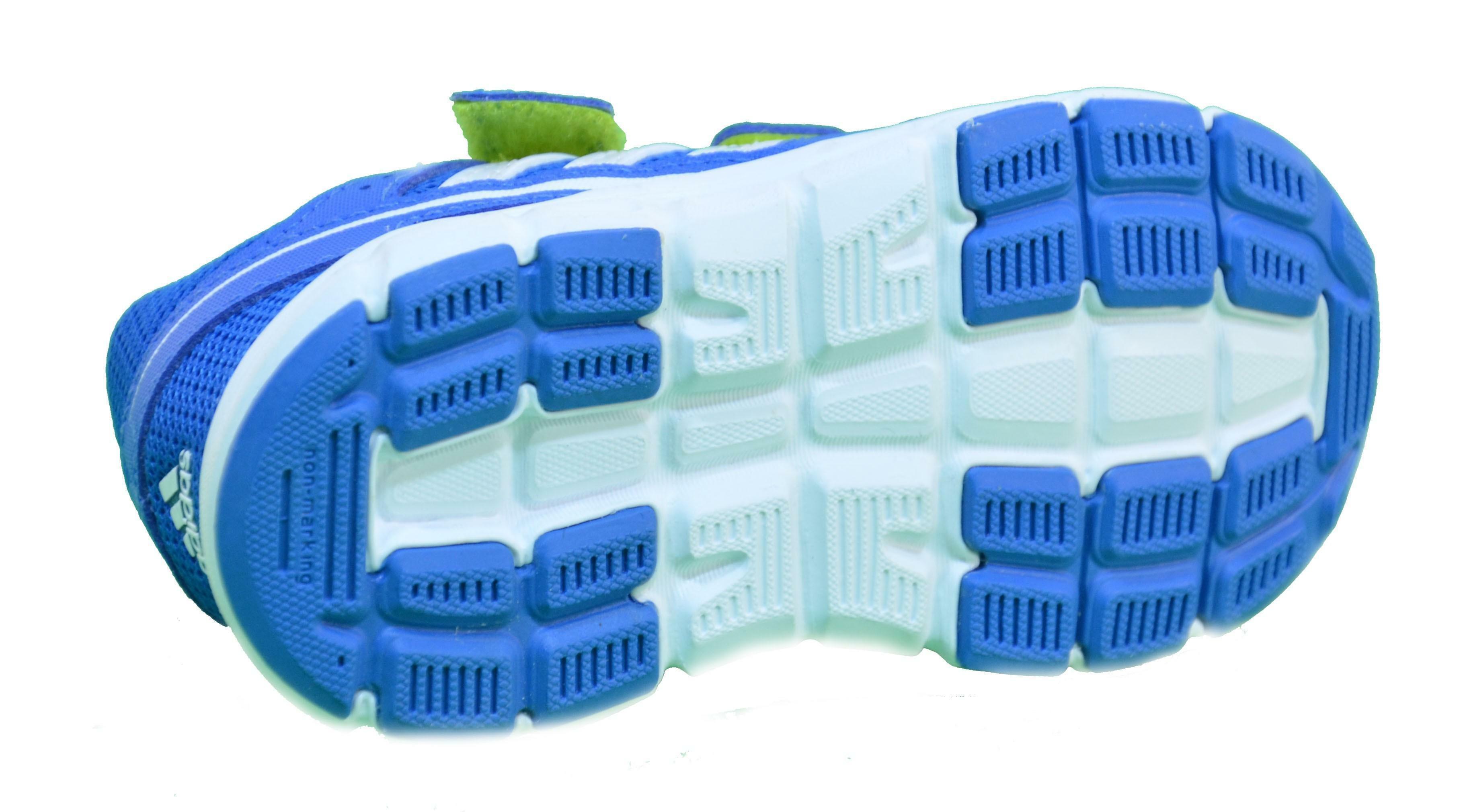 adidas adidas hyperfast cf i scarpe bambino blu pelle tela strappi m29451