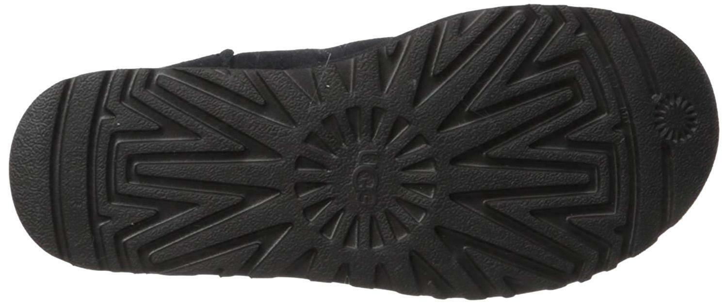 ugg ugg classic short rubber stivali donna neri 1108230blk