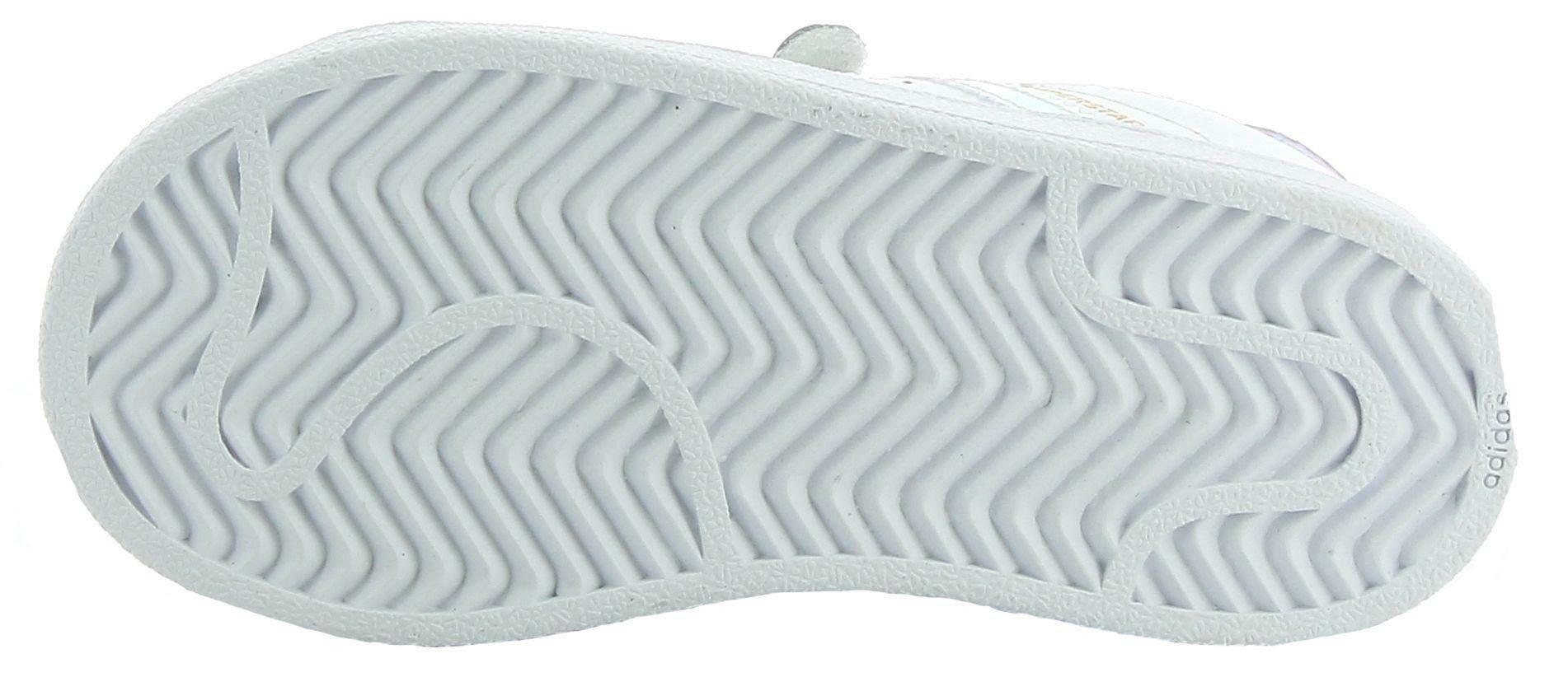 adidas adidas superstar cf i scarpe sportive bambina bianche