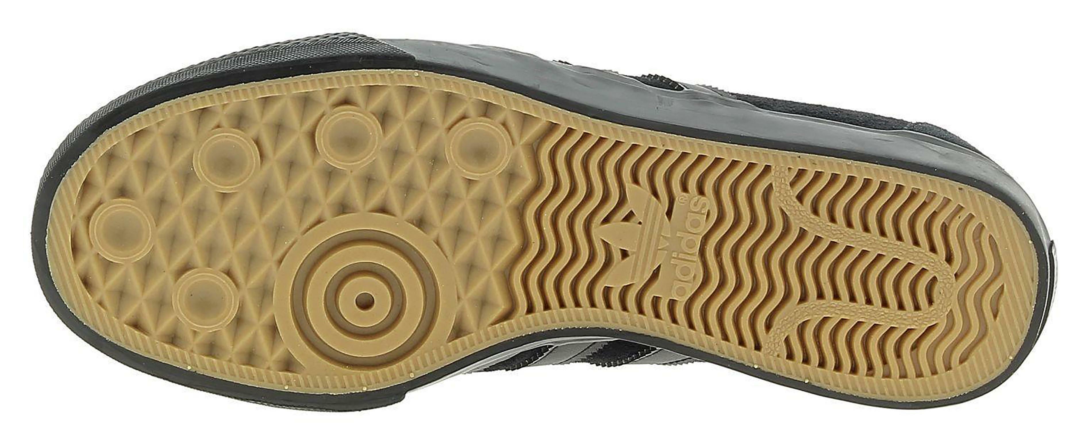 adidas adidas adi-ease scarpe sportive skate uomo nere pelle scamosciata