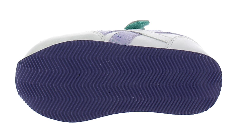 reebok scarpe bambina bianco viola pelle 52365