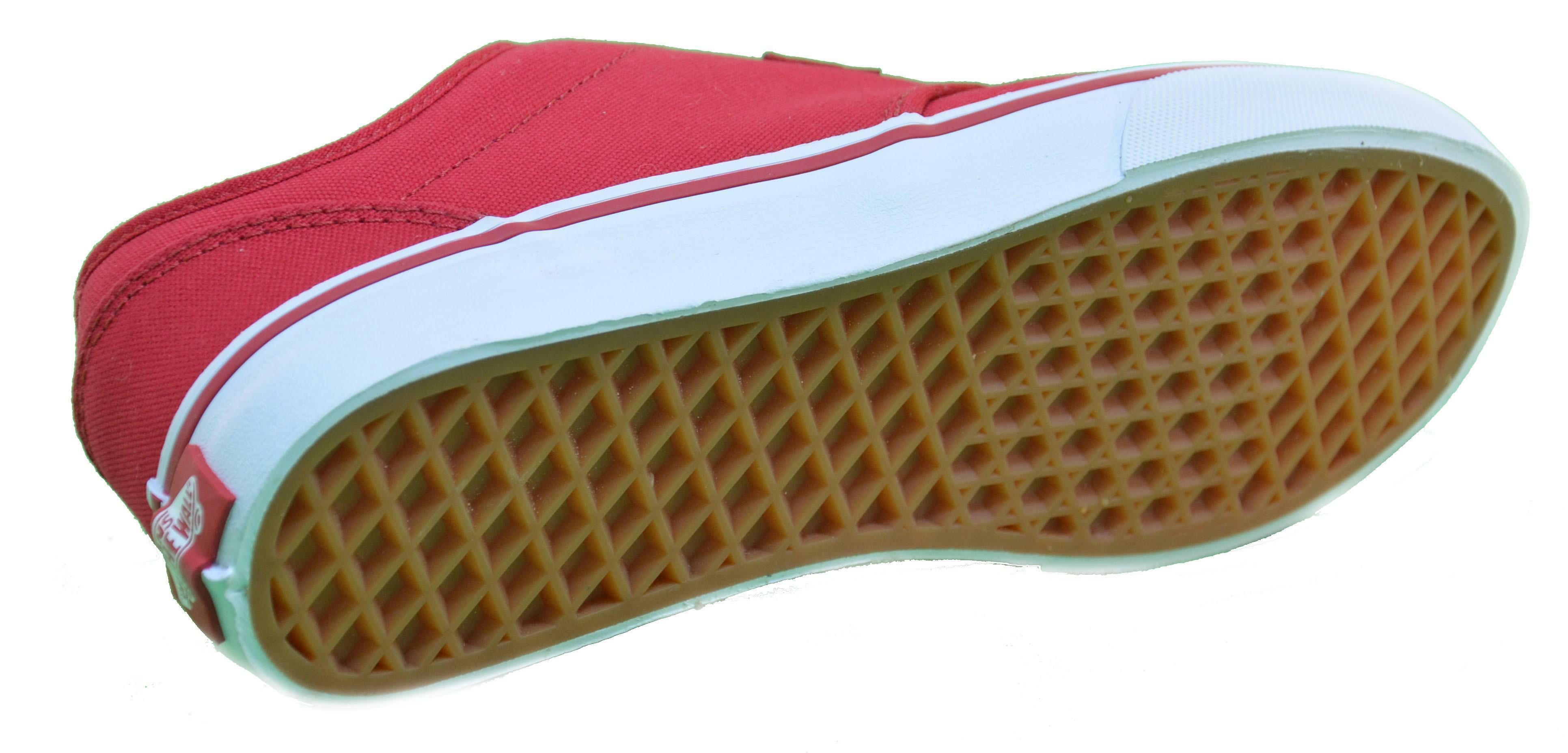 vans vans atwood scarpe bambino rosse tela znr5gh