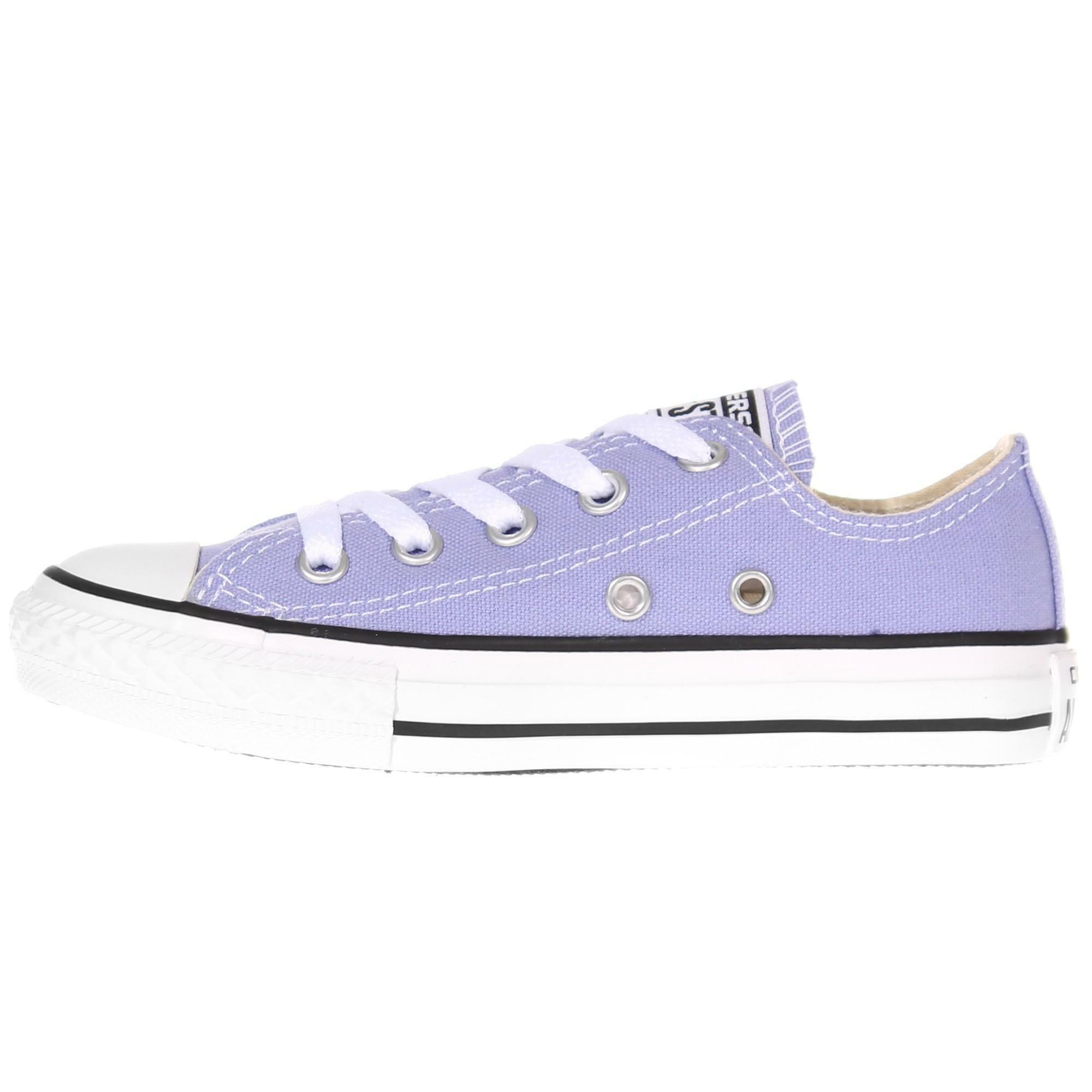 converse all star ct ox scarpe viola bambina 342375