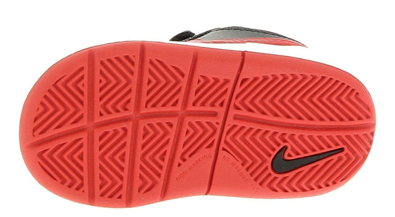 nike nike pico 4 (tdv) scarpe bambino nere rosso pelle