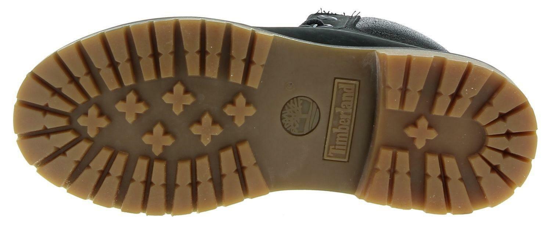timberland timberland 6in premium scarponcini pelle donna neri