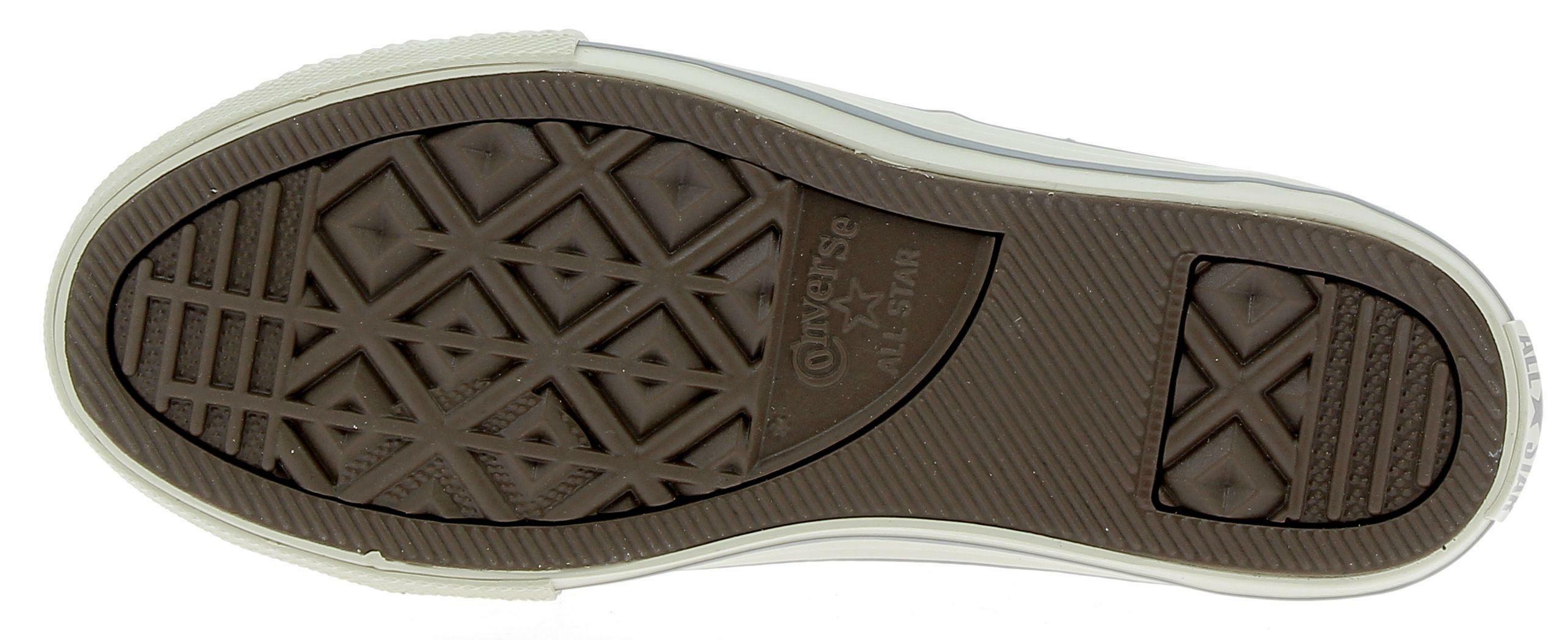 converse converse ctas curved eye scarpe sportive pelle bianche
