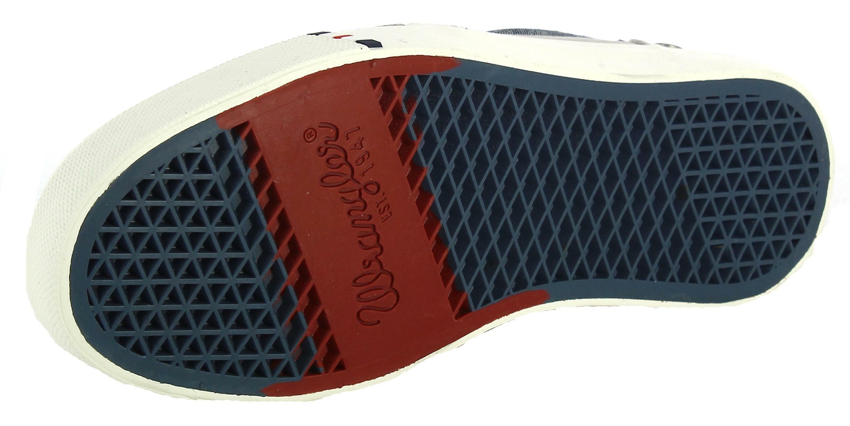 wrangler wrangler icon city canvs scarpe sportive uomo grigie