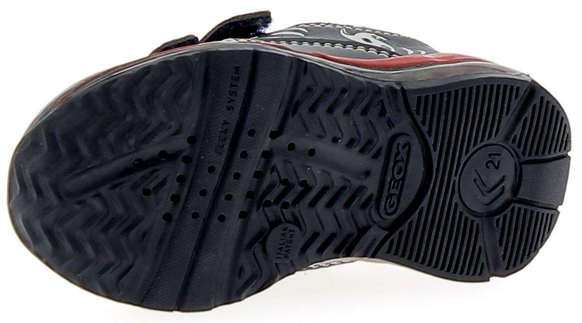 geox geox b todo b scarpe sportive bambino blu scuro