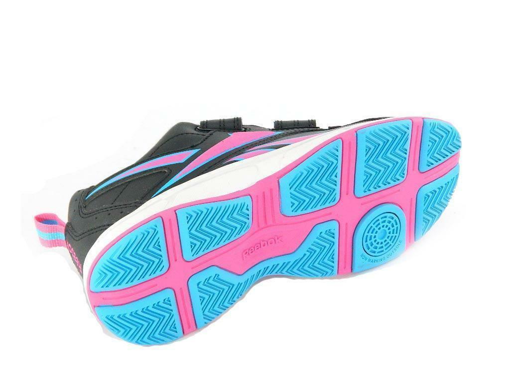 reebok reebok scarpe tennis get the net 2v d8-v47510 nero donna