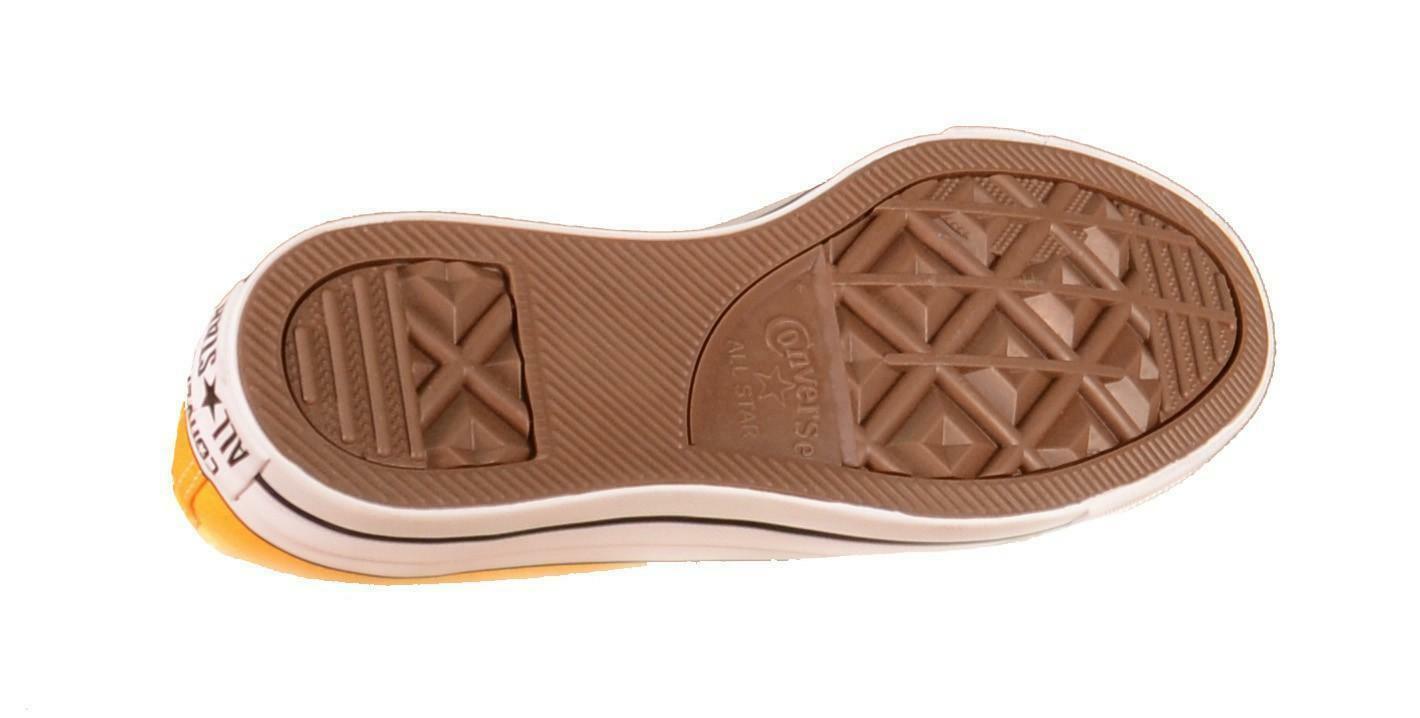 converse converse all star chuck taylor ox solar scarpe sportive gialle 351178c