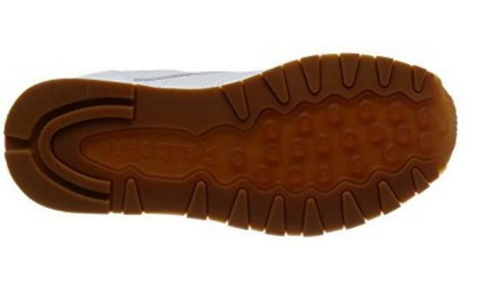 reebok reebok cl leather pg scarpe sportive uomo bianche