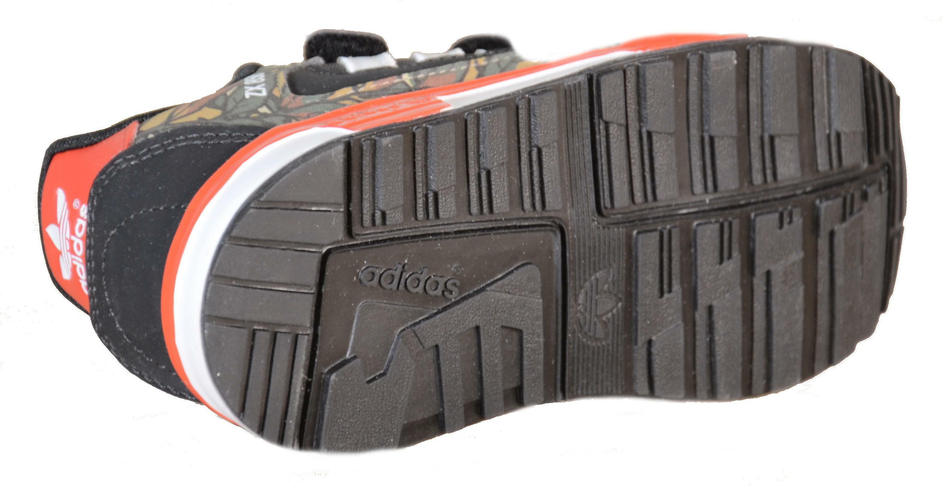 adidas zx 850 cf i scarpe bambino nere pelle tela strappi m19747