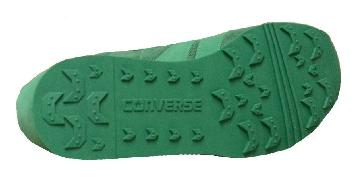 converse auckland racer ox scarpe sportive verdi 152677c