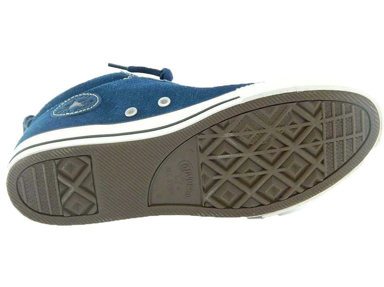 converse converse street mid sued scarpe alte hi junior donna blu 628739c