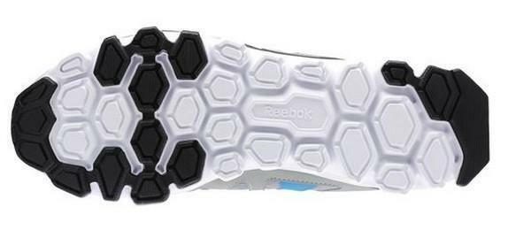 reebok reebok hexaffect run 2.0 scarpe sportive grigie v66081