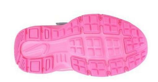 nike revolution 2 psv scarpe sportive bambina grigie rosa pelle tela lacci strappi 555091
