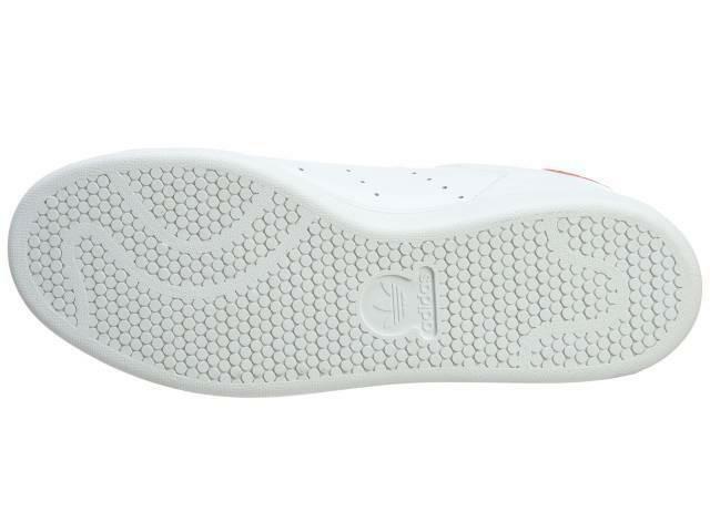 adidas adidas stan smith scarpe sportive uomo bianche rosse m20326