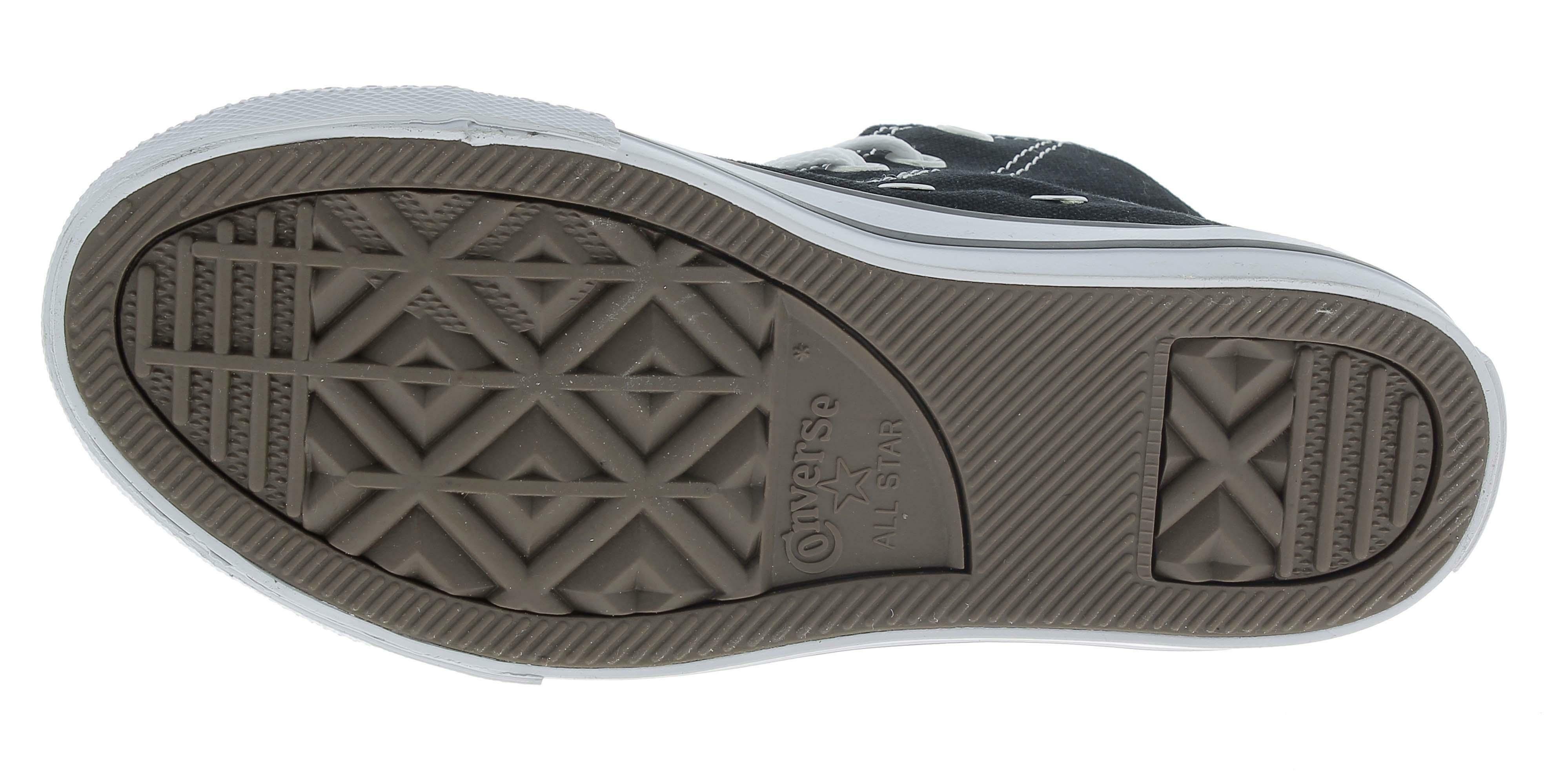 converse converse all star hi ct scarpe sportive alte bambino nere 3j231