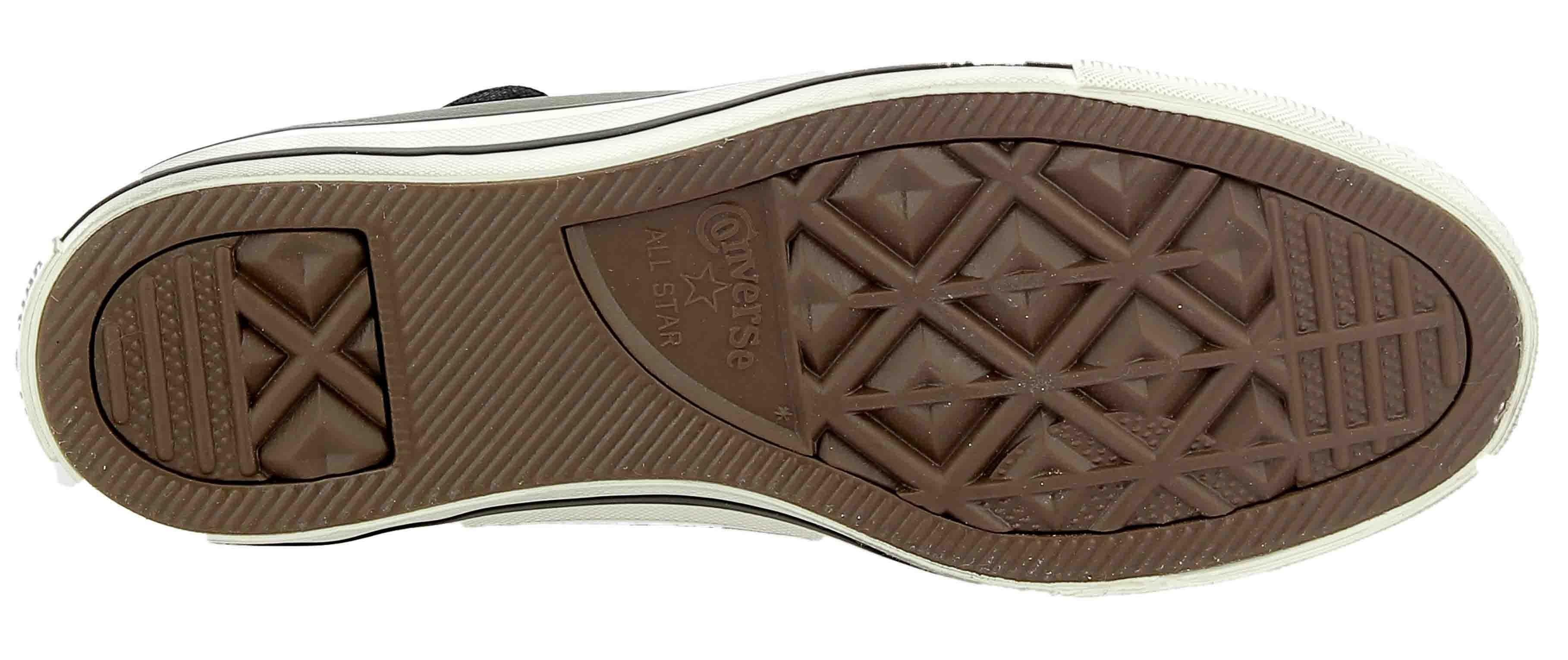 converse converse ctas distressed scarpe sportive verde pelle 162795c