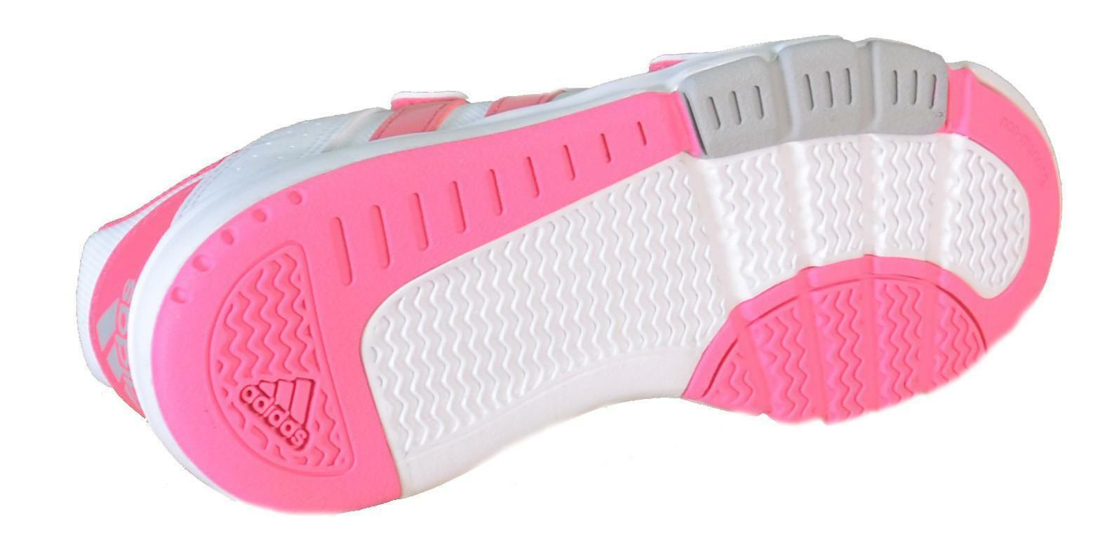 adidas adidas bts class 4 cf k scarpe bambina bianche pelle strappi d65706